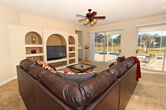 5 Bed 3 Bath Pool Home In Highlands Reserve Golf Community. 478BD. - Image 1 - Orlando - rentals