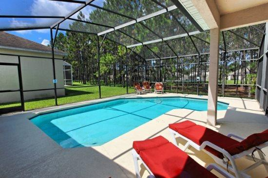 4 Bed 3 Bath Home Overlooks Conservation. 538BRI. - Image 1 - Orlando - rentals