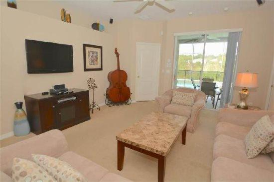 4 Bed 3 Bath Pool and Spa Home Located in The Shire at West Haven. 919DP - Image 1 - Orlando - rentals