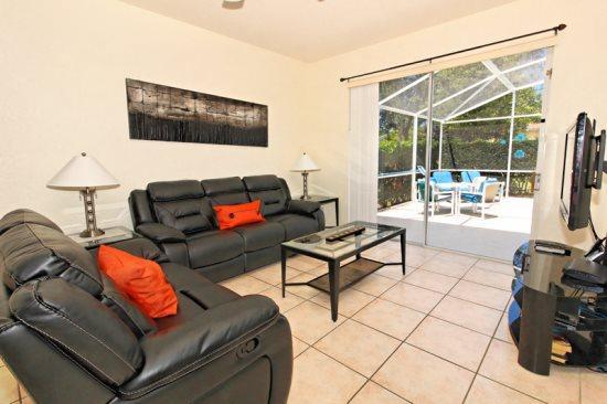 5 Bedroom Pool Home In Golf Community. 410OD - Image 1 - Orlando - rentals