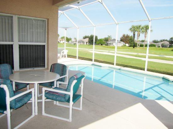 4 Bedroom Vacation Home With Golf Course View. 520JA - Image 1 - Orlando - rentals