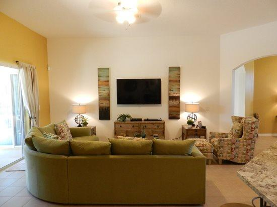 5 Bed 4 Bath Pool Home in Watersong Resort. 184YSD - Image 1 - Orlando - rentals