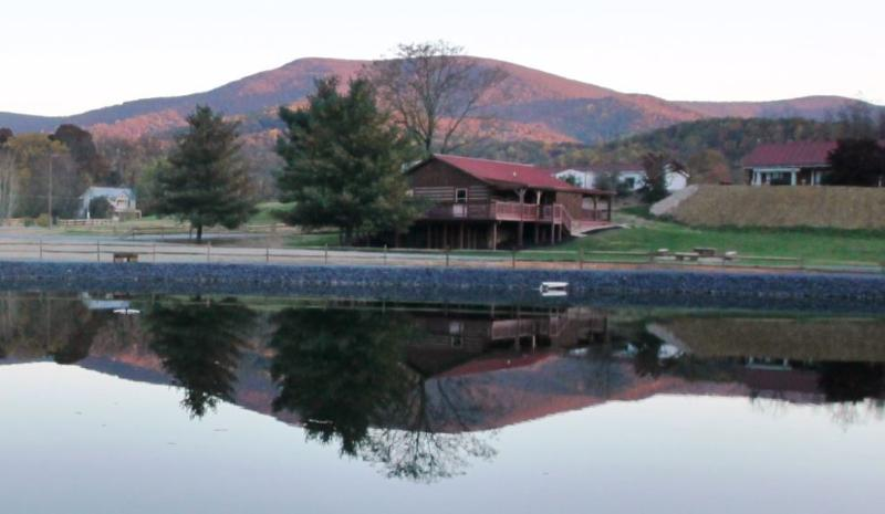 The Mare House Is Located Bside Our Private Fishing Lake - Hawksbill Retreat - Mare House - Stanley - rentals