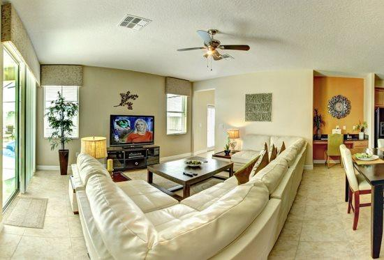 Gorgeous 5 Bedroom 4 Bath Pool Home in West Haven. 1017SP - Image 1 - Orlando - rentals