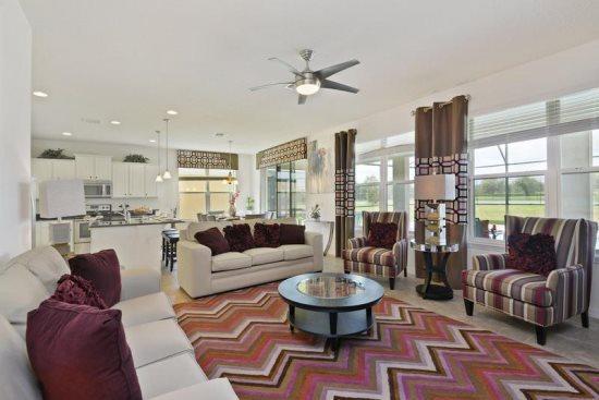 Exquisite 6 Bedroom 6 Bathroom Pool Home in West Haven. 951SP - Image 1 - Orlando - rentals