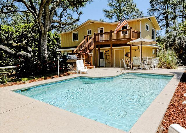 Welcome to Sand Dollar Rd 29! - Sand Dollar Rd 29, 5 Bedrooms, Private Pool, 2nd Row Ocean Home, Sleeps 10 - Hilton Head - rentals