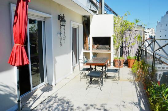 UNIQUE PRIVATE outdoor  terrace - BEST RECOLETA 2 bedroom 4-5 PAX terrace + BBQ - Buenos Aires - rentals