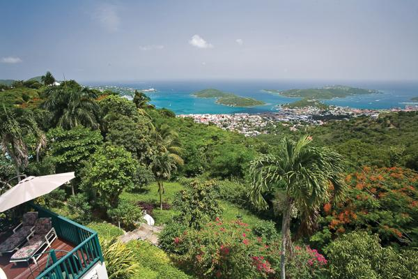 This grand Caribbean mansion has a fabled past: the former haunt of the celebrated and glamorous. MA KYA - Image 1 - Charlotte Amalie - rentals