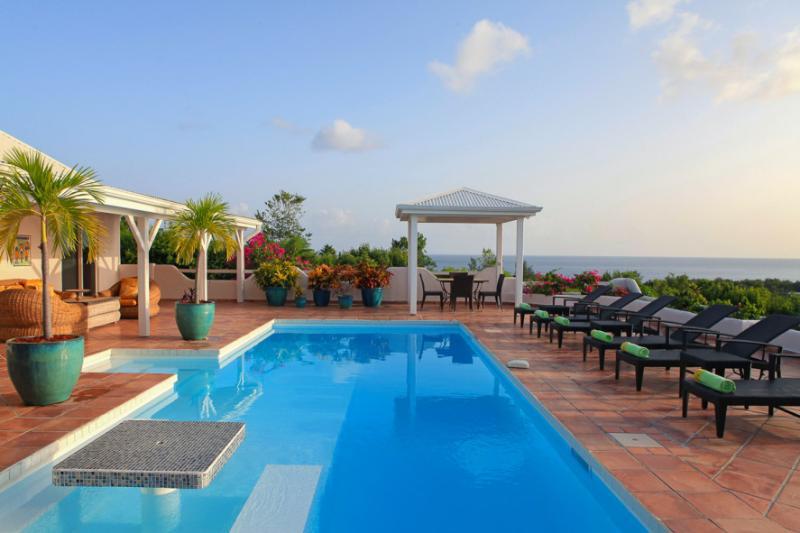 La Magnolia at Terres Basses, Saint Maarten - Ocean View, Pool, Very Private - Image 1 - Terres Basses - rentals