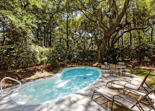 Wagon Rd. 18 Pool - Wagon Road 18, 5 bedrooms, Private Pool, Walk to the Beach, Sleeps 14 - Sea Pines - rentals