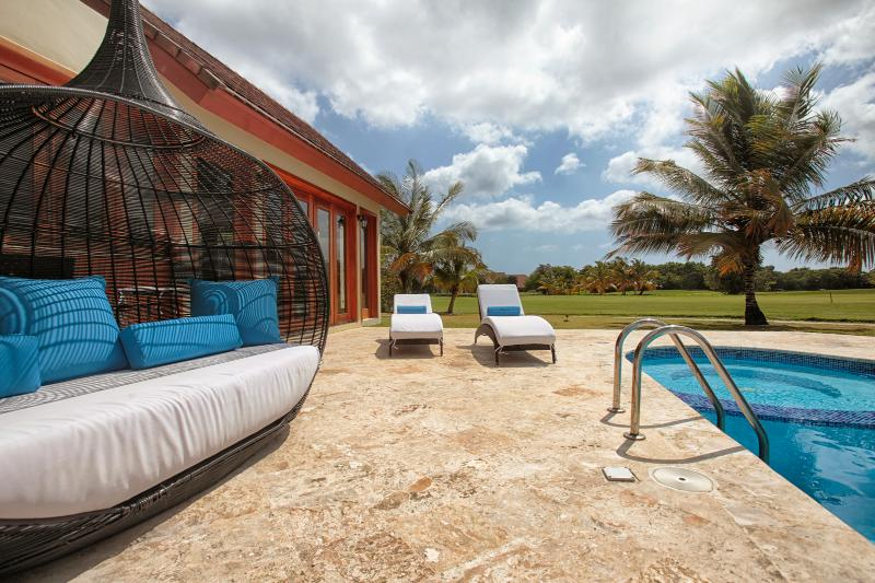 Private pool with overview of the golf course - TOP RATED -5BD Luxury Villa w/Full Staff - Punta Cana - rentals