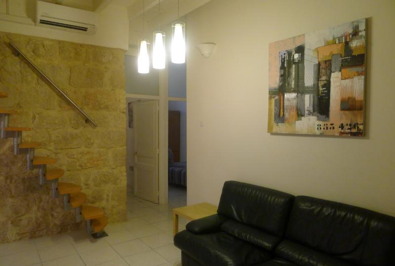 Living room, Le salon - 3 Bedrooms Apt-loft 1/6 pers. 54Sqm 8 Min Beach - Nice - rentals