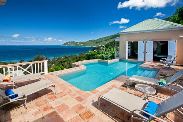 A spacious, flowing floor plan allows the ocean breeze to waft through this villa. MAT MUR - Image 1 - Tortola - rentals