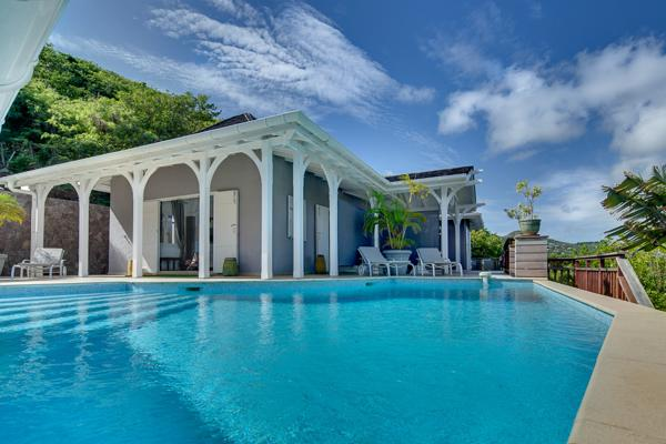 Peaceful villa on the top of the hill in Domaine du Lagon WV AJL - Image 1 - Saint Barthelemy - rentals