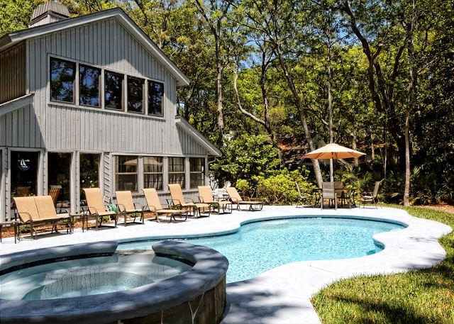 Welcome to Offshore 57! - Off Shore 57, 6 Bedroom, Private Pool & Spa, Lagoon Views, Sleeps 18 - Hilton Head - rentals