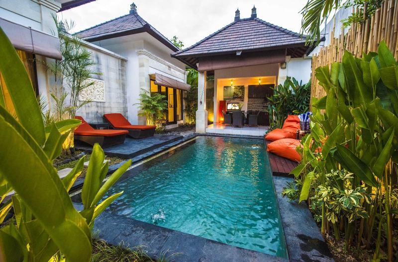 2 BR Lux Pool Villa Hidden Oasis near Seminyak - Image 1 - Seminyak - rentals