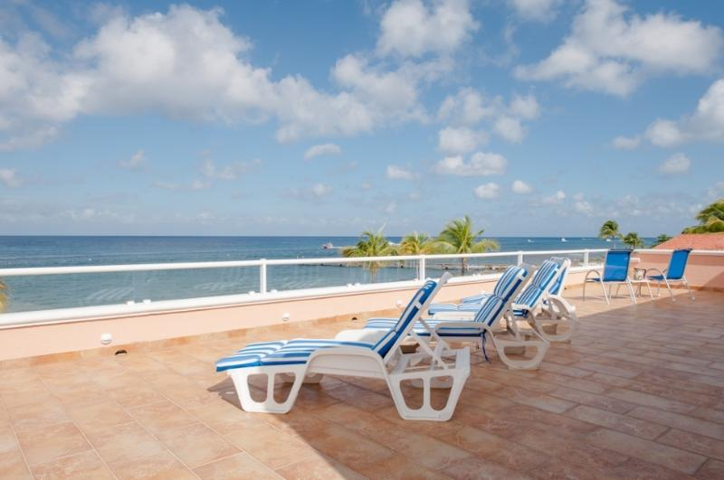 Spectacular views from your oceanfront villa! You could get used to this! - Casa Calypso: Spacious Beachfront Home in Cozumel - Cozumel - rentals