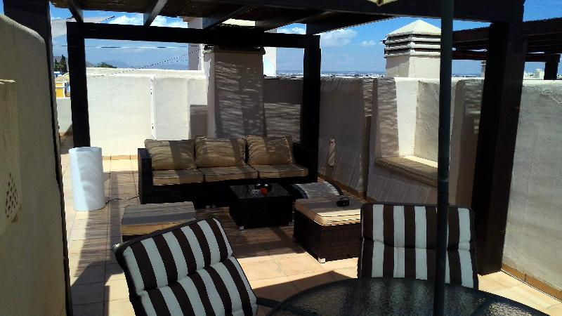 Private Roof Terrace with Chill Out Area - Communal Pool - WiFi Internet Access - Parking - 8007 - Image 1 - San Javier - rentals