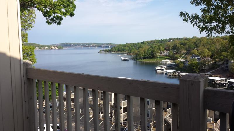 Hightop view of Main Channel - Lake of the Ozarks Condo with great view of Lake - Osage Beach - rentals