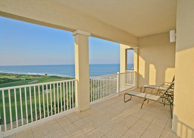 Prop your feet up and unwind on the amazing balcony! - 461 Cinnamon Beach, 6th Floor Penthouse condo sleeps up to 11, HDTV, Wifi - Palm Coast - rentals