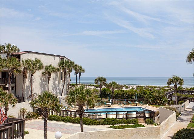 A ground floor condo by the beach with many amenities - Island House G 118 ground floor, ocean view, Pool Tennis, St Augustine - Saint Augustine - rentals