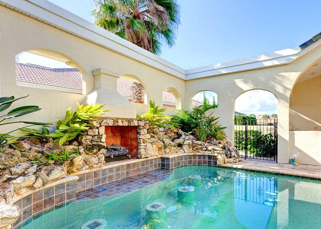 You'll adore our unique courtyard - Ocean Hammock Royal Swan with Private Heated Pool, & Courtyard - Palm Coast - rentals
