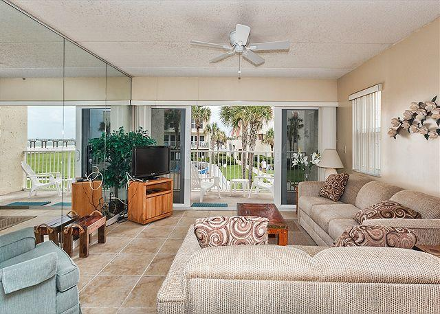 St. Augustine Beach and the pier are a few steps away! - Pier Point South 55, OceanViews, Heated Pool at Pier - Saint Augustine - rentals