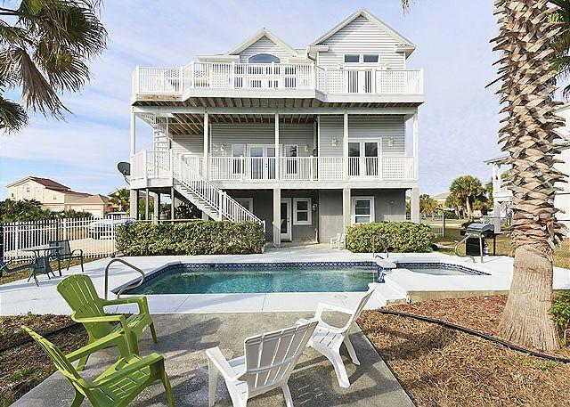 Welcome to Sweet Dreams - Sweet Dreams Beach House, 6 Bedrooms, Elevator, Private Pool & Spa - Flagler Beach - rentals