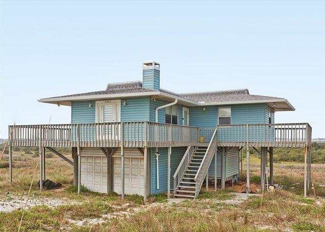 Dolphin Lookout right on the beach in Summerhaven - Dolphin Lookout, Beach Front, on Summer Haven Beach St Augustine - Saint Augustine - rentals