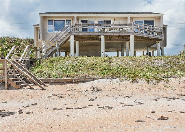 Picture yourself standing on the deck of White Heron Beach House - White Heron Beach House, 4 Bedrooms, Ocean Front, Ponte Vedra Beach - Ponte Vedra Beach - rentals