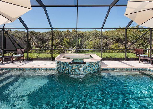 Work out in the pool, unwind in the spa - Sandpiper Hammock, Luxury, Private Heated Pool, Spa, new HDTVs, Elevator - Palm Coast - rentals