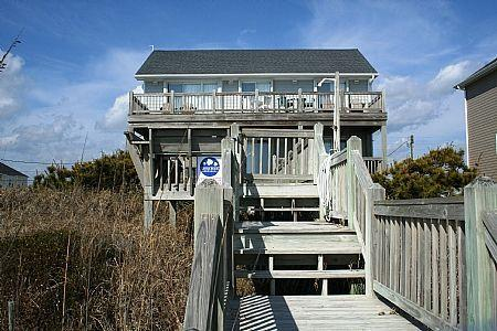 Beach Side View - A Southern Charm - Surf City - rentals
