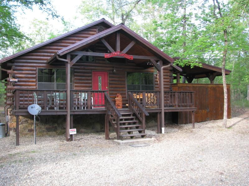 Front View - Secluded Privacy - Broken Bow Lake / Beavers Bend - Broken Bow - rentals