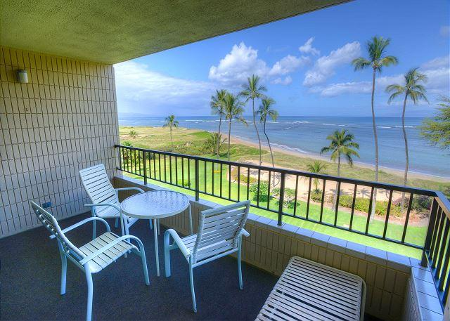 FALL SPECIALS! 5th Floor Ocean Front Condo with an Amazing Ocean View - Image 1 - Kihei - rentals