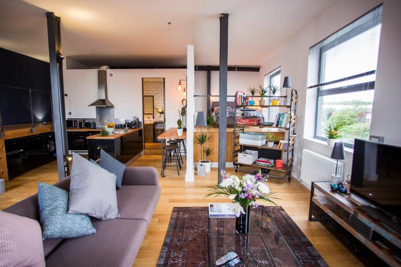 "Stylish River Loft Apartment - ""Amazing"" 1 Bed River Loft Apartment - Bristol - rentals"