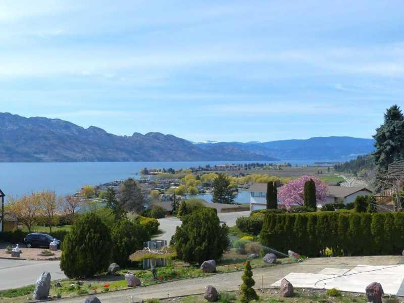 Views from deck - Incredible 5 Bedroom Okanagan Lake View Home with Hot Tub - West Kelowna - rentals
