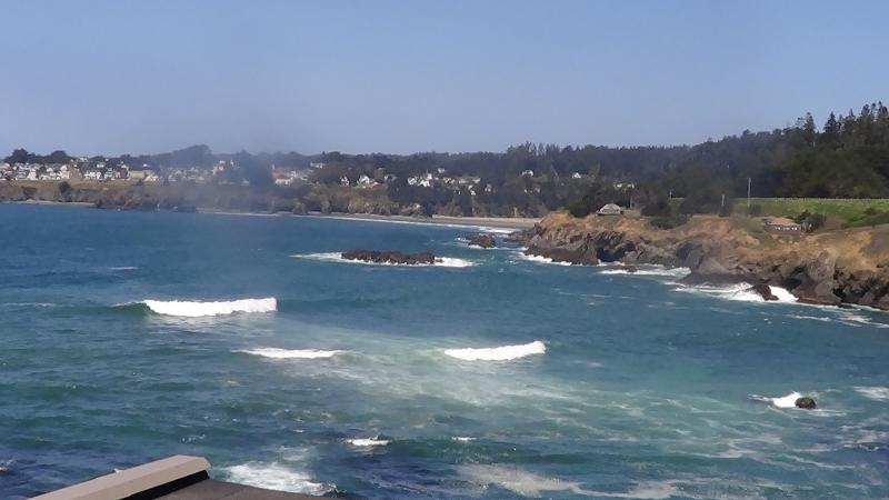 View from the Pacifica Suite - Cypress Cove -  Simply the best view in Mendocino - Mendocino - rentals