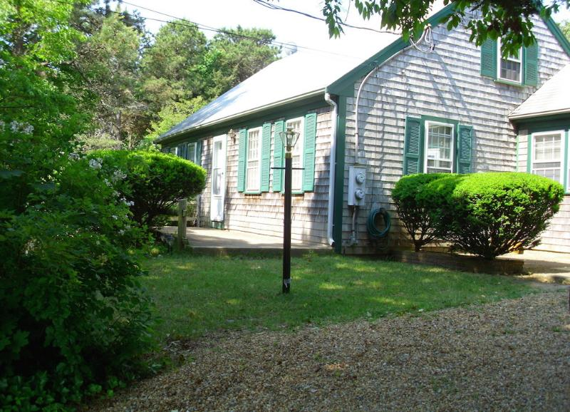 Front side - Captivating Contemporary Cape - Oak Bluffs - rentals