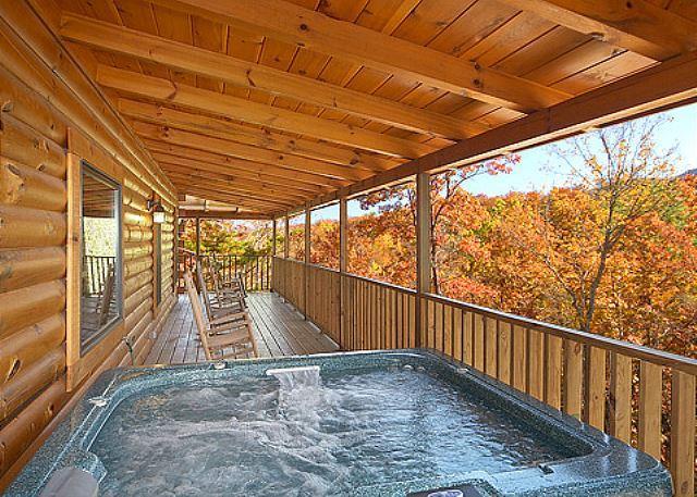 Gatlinburg luxury cabin  BEARFOOT LODGE #420 - Image 1 - Gatlinburg - rentals
