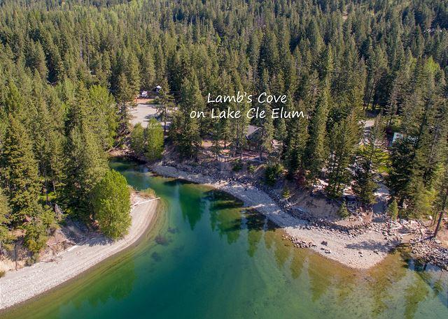 Lamb's Cove - 3-for-2 Special! Postcard setting on the shores of Lake Cle Elum! - Ronald - rentals