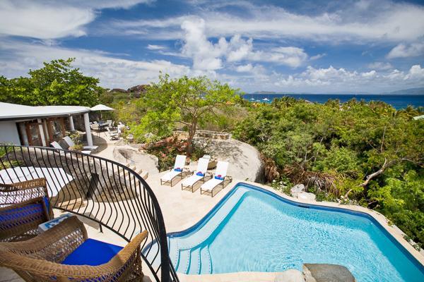 Deluxe villa with white sand beach access. MAV OTR - Image 1 - Virgin Gorda - rentals