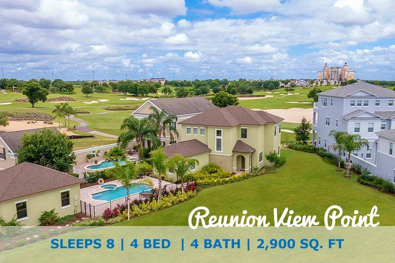 Reunion View Point | Luxury 4 Bed Villa with Large Pool, Custom Kitchen & Deck Located on the Palmer Golf Course - Image 1 - Kissimmee - rentals