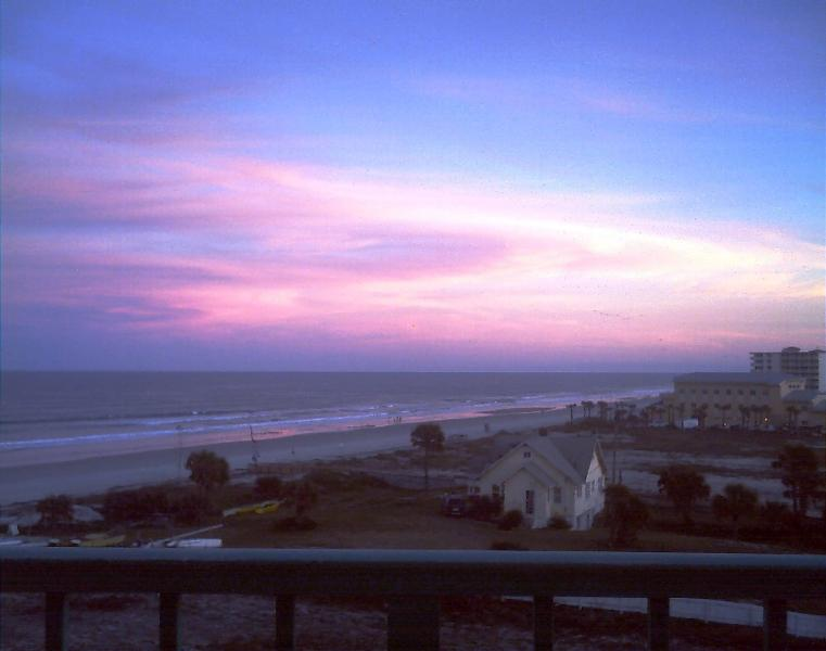 View From Balcony - Ocean View Studio in Daytona Beach - Daytona Beach - rentals
