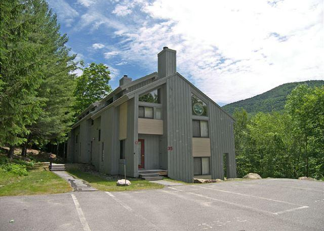 Exterior of unit - C041W- Managed by Loon Reservation Service - NH Meals & Rooms Lic# 056365 - Lincoln - rentals