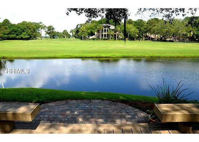 View - 190 Twin Oaks-WOW! View of the famous Harbour Town Golf Links/FULLY RENOVATED - Hilton Head - rentals