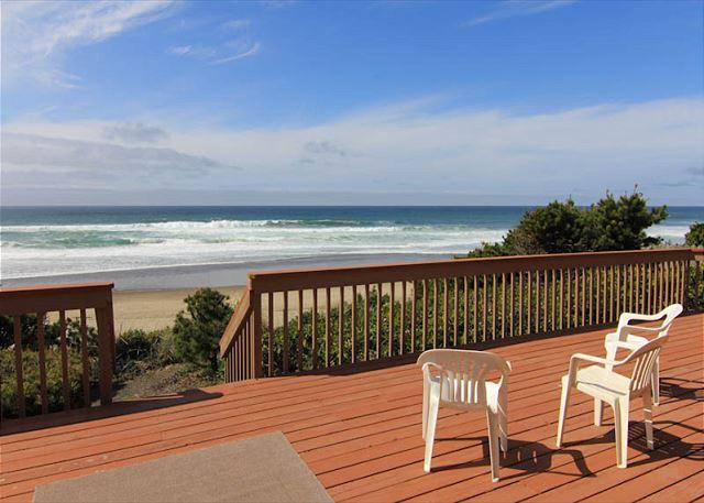 Wonderful Ocean Front Home-Perfect for a Family Retreat! - Image 1 - Gleneden Beach - rentals