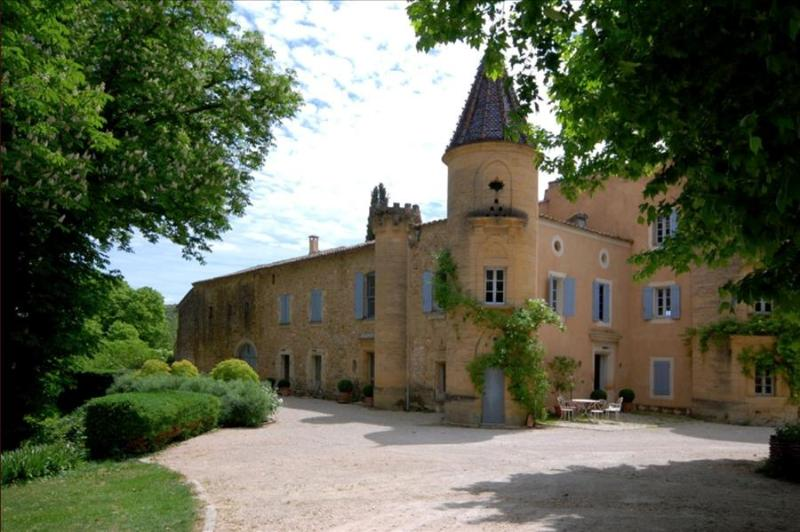 Le Chateau de Peintre, Spectacular Chateau in Provence, outside Uzès with own Private Lake, and Pool - Image 1 - Uzes - rentals
