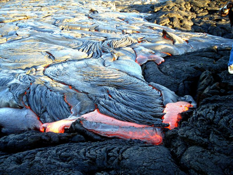 See the lava flow in action! - GreatSnorkel in WarmTide Pool 25% Off Oct&Nov 2016 - Pahoa - rentals