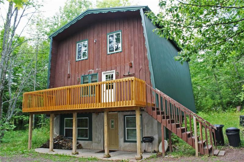 Located at Base of Powderhorn Mtn in the Western Upper Peninsula, A Cozy Home in an Intimate Wooded Setting - Image 1 - Bessemer - rentals