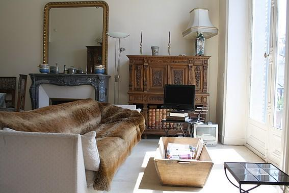 Living room - parisbeapartofit - Louvre Oratoire for 5 (209) - Paris - rentals